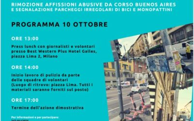 Sabato 10 Ottobre – Cleaning Day 2020